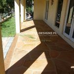 stamped pavers